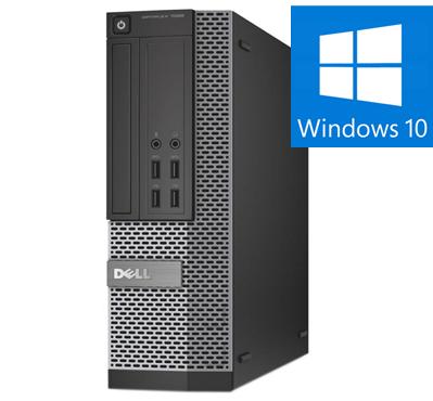 Calculator Refurbished Dell OptiPlex 7020 Mini-Tower Intel Core i5-4590, 8GB DDR3, 128 SSD, Win 10 Pro 0