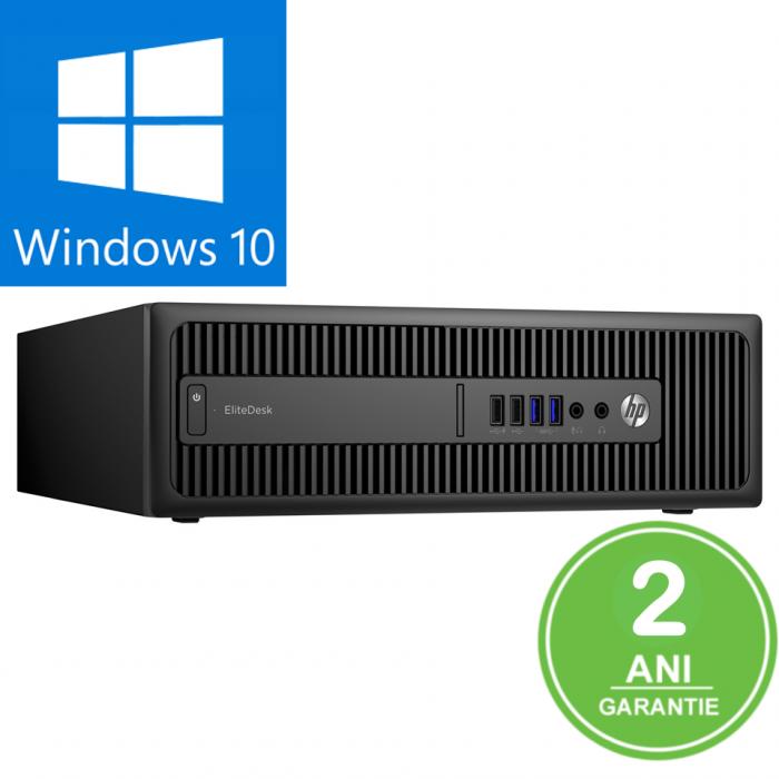 Calculator REFURBISHED HP 400 G3 Intel Core i5-6500 3.20 GHz 8GB DDR4 128GB SSD Win 10 PRO [0]
