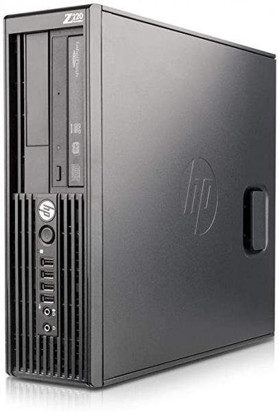 Calculator Refurbished HP Z220 SFF Intel Core E3-1225V2 4GB DDR3, 500 GB HDD 0