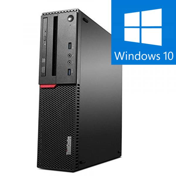 Calculator Refurbished  Lenovo M900 SFF Intel Core i5-6500, 8GB DDR4, 240GB SSD NOU, Windows 10 Pro 0