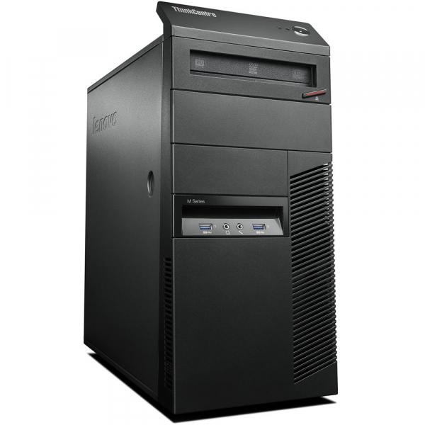Calculator Refurbished Lenovo ThinkCentre M83 Tower Intel Core i3-4160, 4GB DDR3, 500GB HDD 0