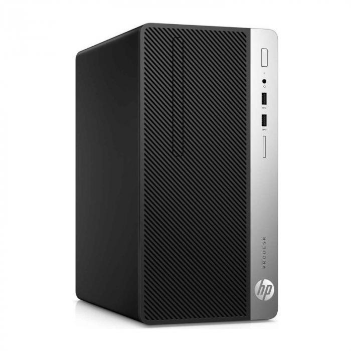 Sistem REFURBISHED PC HP ProDesk 400 G6 cu procesor Intel® Core™ i5-9500 pana la 4.40 GHz, Coffee Lake, 8GB DDR4, 256GB SSD, Intel® UHD Graphics 630, Microsoft Windows 10 Pro [0]