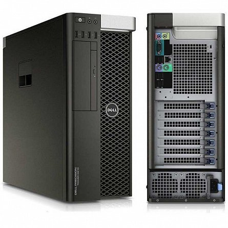 DELL PRECISION T5810 INTEL XEON E5-1620 V3 3.50GHZ / 16GB DDR4 /128 SSD + 500GB HDD / QUADRO K4000 3Gb/192 biti 1