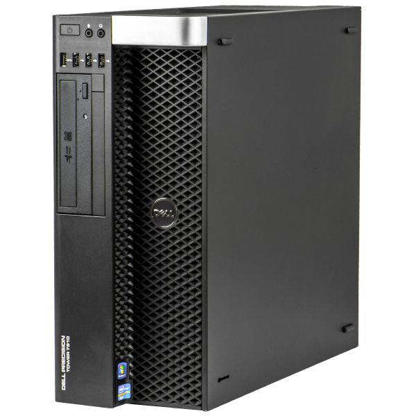 DELL Precision T7600 Workstation, 2 x Intel HEXA Core Xeon E5-2265 2.40 GHz, 32GB DDR3 ECC, 240GB SSD + 1TB HDD, GeForce® GTX 1060 1