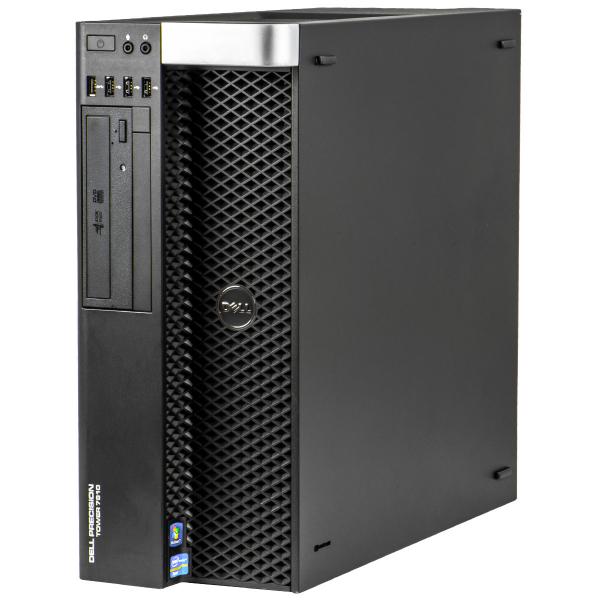 DELL Precision T7600 Workstation, 2 x Intel HEXA Core Xeon E5-2265 2.40 GHz, 32GB DDR3 ECC, 240GB SSD + 1TB HDD, nVidia Quadro K620 0