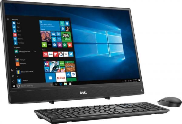 """Desktop All-in-One Dell DT 3275 AIO K51W4 21.5 """" FHD display, AMD A6-9225, 4GB RAM, 1TB SSHD, AMD Radeon R4, Windows 10 Home 0"""