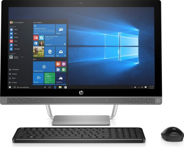Desktop All-in-One HP ProOne 440 G3 Display ( 1920x1080 ) 23.8inch,  Core i3-7100T, 8GB RAM DDR4, 256GB SSD, Windows 10 Home 0