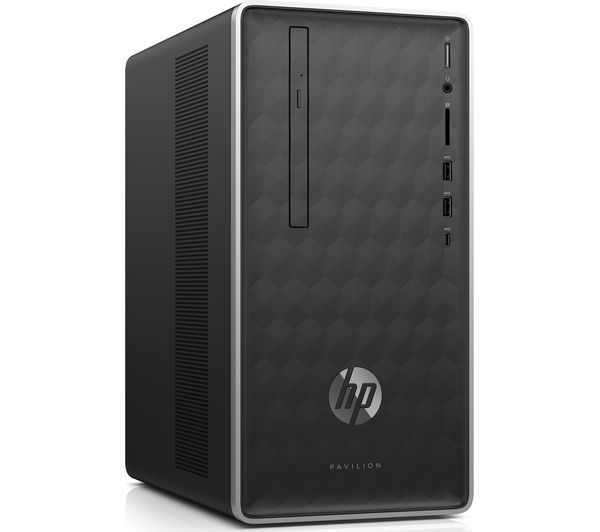 Desktop PC HP Pavilion 590, Intel Core i5-8400, RAM 8GB DDR4, HDD 1TB, M.2 128GB, Video NVIDIA GeForce GTX 1050 2GB, Windows 10 Home 1