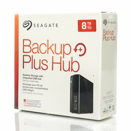 Hard Disk Extern Seagate Backup Plus HUB 8TB, USB 3.0 0
