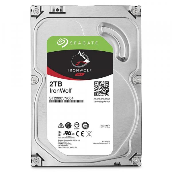 Hard Disk NAS Seagate IronWolf, 2TB, SATA III, 5900 RPM, 64MB, 3.5 inch [0]