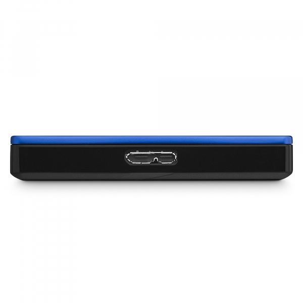 "HDD extern Seagate Backup Plus Slim Portable, metalic, 2TB, 2.5"", USB 3.0,Albastru 1"