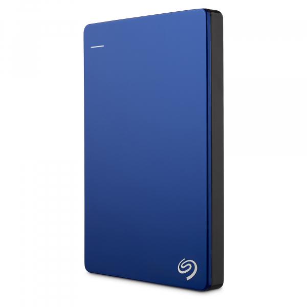 "HDD extern Seagate Backup Plus Slim Portable, metalic, 2TB, 2.5"", USB 3.0,Albastru 7"