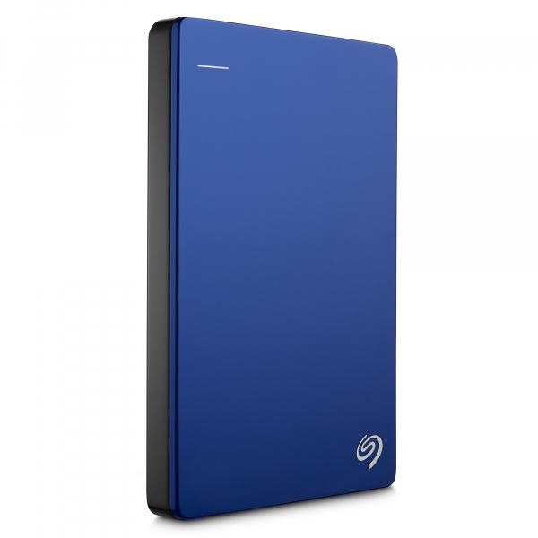 "HDD extern Seagate Backup Plus Slim Portable, metalic, 2TB, 2.5"", USB 3.0,Albastru 6"