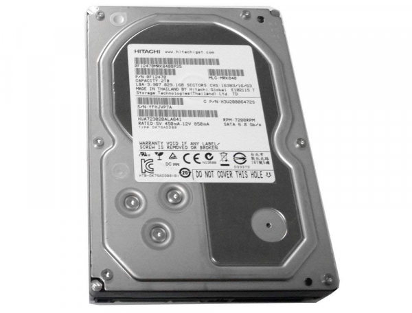 HDD Hitachi, 2TB , 7200RPM, 64MB, 0F12470 0