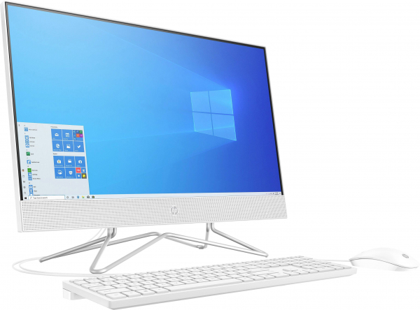 Sistem All-in-one PC HP 24-df0010ng 60.5 cm (23.8 inch) Intel Core i5 i5-1035G1 8 GB 512 GB SSD Intel UHD Graphics Windows® 10 1