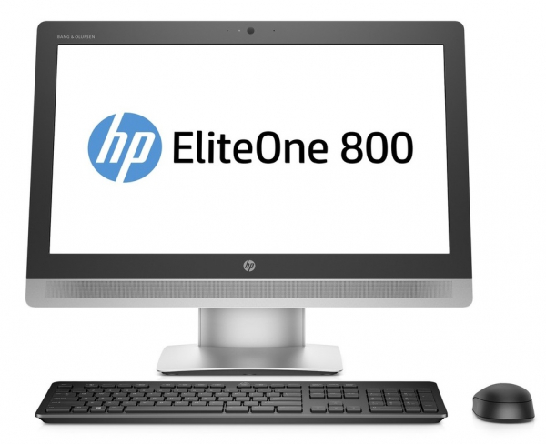 "HP All-in-One EliteOne 800 G2 23"" Intel Core i5 6th gen., 8GB DDR4, 256GB SSD, Windows 10 Pro 0"