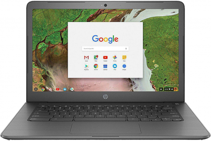 HP Chromebook 14-db0002ng AMD Dual-Core A4-9120C APU 4Gb DDR4 SSD: 64 GB Flash (eMMC) Chrome OS™ 1