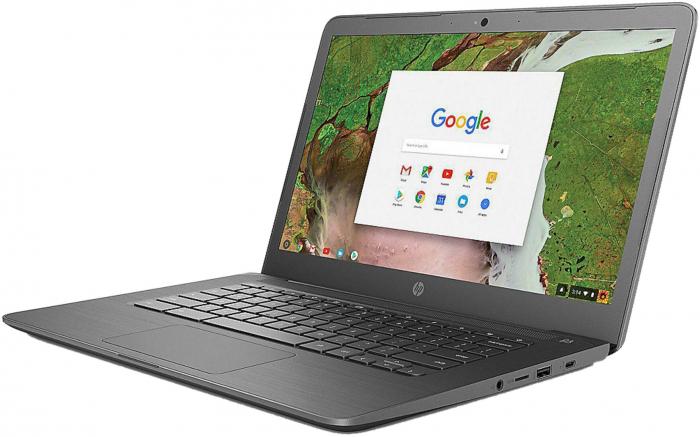 HP Chromebook 14-db0002ng AMD Dual-Core A4-9120C APU 4Gb DDR4 SSD: 64 GB Flash (eMMC) Chrome OS™ [2]