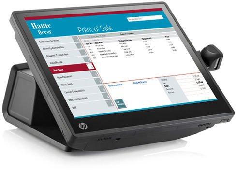 HP RP7 Refurbished Retail System 7800 Touch Intel Celeron G540 2.5GHz 4GB Ram 128GB SSD [1]