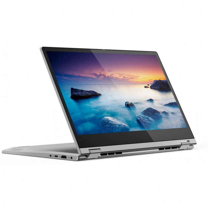Laptop Lenovo IdeaPad C340-14IML Platinum, Pentium Gold 6405U 8GB RAM 256GB SSD Windows 10 Home 4