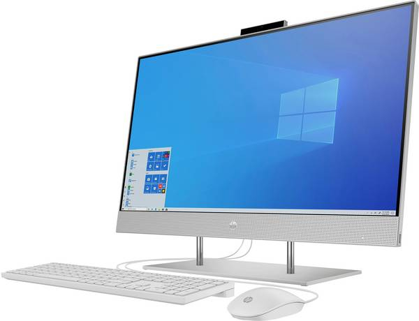 Sistem All-in-One PC HP 27-dp0400ng AMD Ryzen™ 5 4500U up to 4,0 GHz, 16 Gb DDR4, 512 Gb SSD, AMD Radeon™ Graphics 0