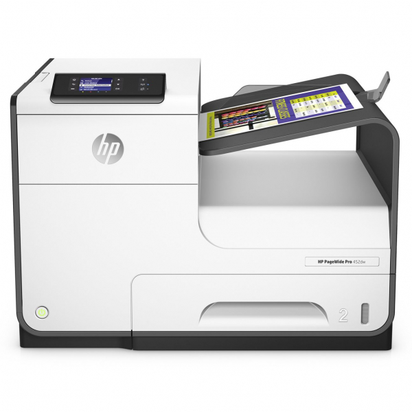 Imprimanta inkjet color HP PageWide Pro 452dw, Wireless, A4 0