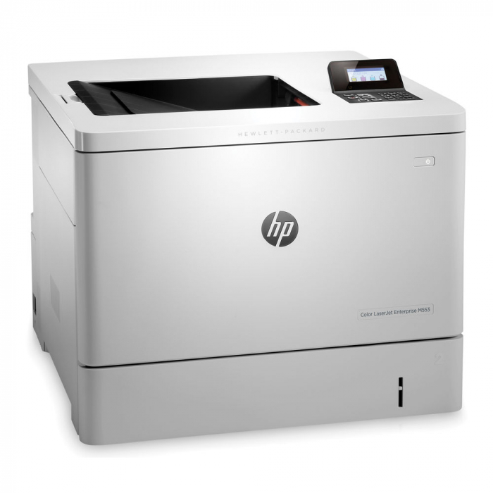 Imprimanta HP Color LaserJet Enterprise M553N, Format A4, Retea 0