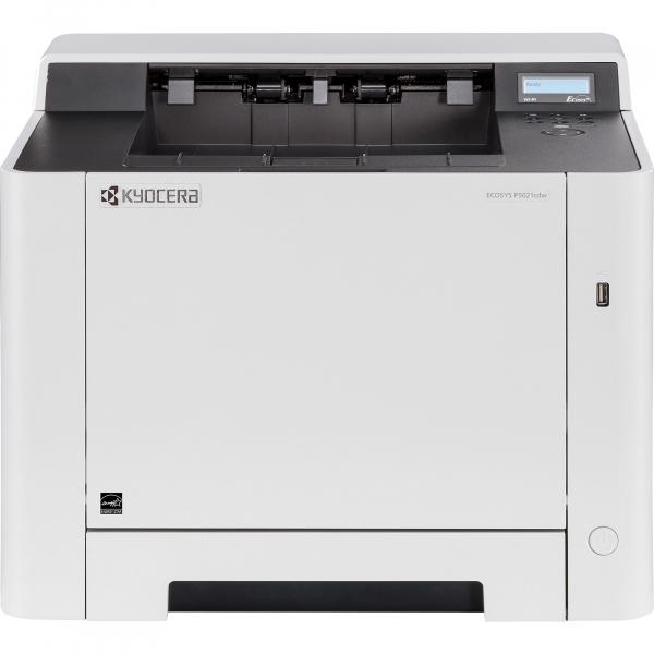 Imprimanta laser color Kyocera ECOSYS P5021cdw, duplex, wireless, A4 1