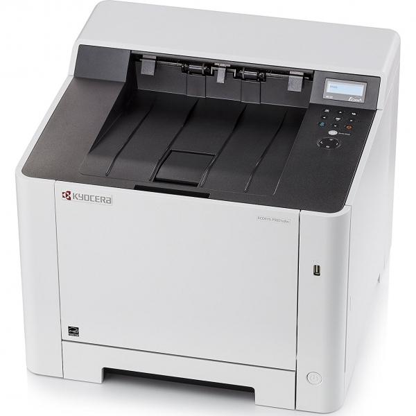 Imprimanta laser color Kyocera ECOSYS P5021cdw, duplex, wireless, A4 2