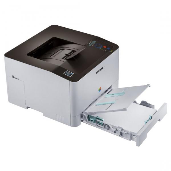 Imprimanta laser color Samsung C1810W, A4, Retea, Wireless 5