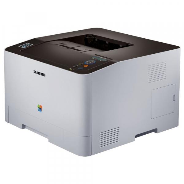 Imprimanta laser color Samsung C1810W, A4, Retea, Wireless 2