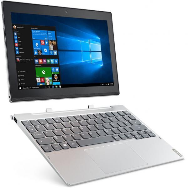 "Laptop 2 in 1 Lenovo Miix 320 cu procesor Intel Atom® x5-Z8350 pana la 1.92 GHz, 10.1"", IPS, Touch, 2GB, 32GB eMMC, Intel HD Graphics, Microsoft Windows 10 Home, Platinum 1"