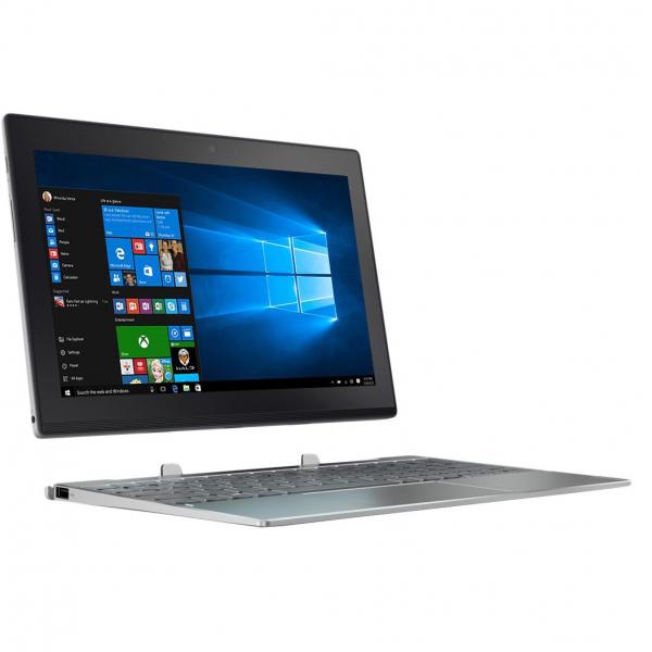 "Laptop 2 in 1 Lenovo Miix 320 cu procesor Intel Atom® x5-Z8350 pana la 1.92 GHz, 10.1"", IPS, Touch, 2GB, 32GB eMMC, Intel HD Graphics, Microsoft Windows 10 Home, Platinum 0"