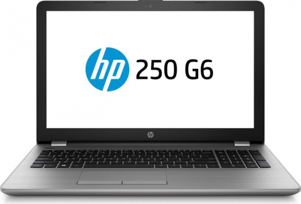 "Laptop HP 250 G6, 15,6 ""(1366x768), i3-7020U, RAM 8GB DDR4, HDD 1TB, DVD-RW, Intel HD Graphics, Windows 10 Home, Tastatura in limba germana 0"