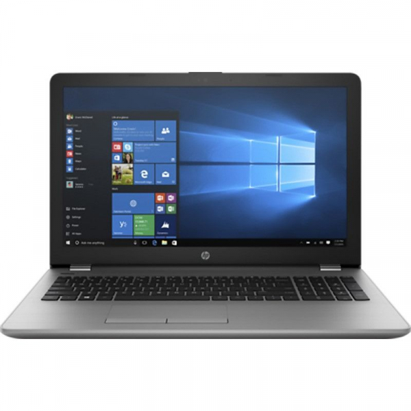 "Laptop HP 250 G6 cu procesor Intel Core i7-7500U pana la 3.50 GHz, Kaby Lake, 15.6"", Full HD, 8GB DDR4, 1TB HDD, DVD-RW, Intel HD Graphics 620, Microsoft Windows 10 Home, Silver, Keyboard DE 0"