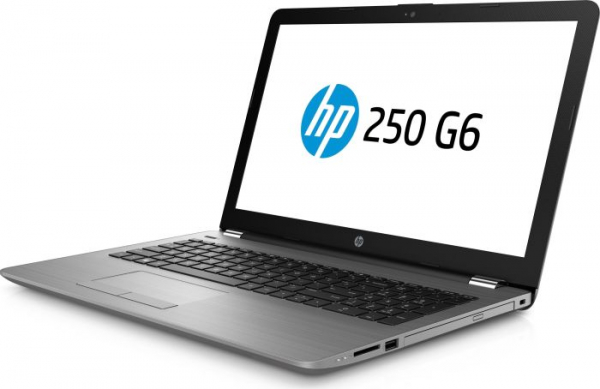 "Laptop HP 250 G6, i3-7020U, 15,6 ""(1920x1080), RAM 8GB DDR4, HDD 1TB + 128GB M.2 SATA, Windows 10 Home, Tastatura in limba Germana 2"