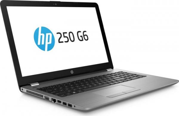 """Laptop HP 250 G6, Intel Core i5-7200U 2.50GHz, 15.6"""", Full HD, 8GB, 256GB SSD, DVD-RW, Intel HD Graphics, Microsoft Windows 10 Home, Tastatura in limba Germana 1"""