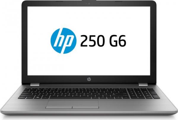 """Laptop HP 250 G6, Intel Core i5-7200U 2.50GHz, 15.6"""", Full HD, 8GB, 256GB SSD, DVD-RW, Intel HD Graphics, Microsoft Windows 10 Home, Tastatura in limba Germana 0"""