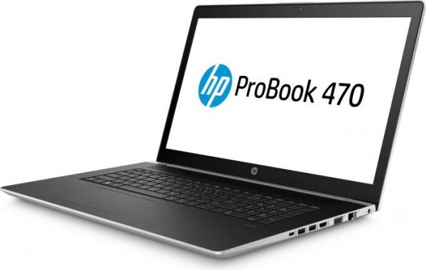 "Laptop HP 470 G5, 17,3 ""(1920x1080), i5-8250U, RAM 8GB DDR4, HDD 1TB + SSD 128GB, NVIDIA GeForce 930MX 2GB, Windows 10 Home, Tastatura in limba Germana 2"