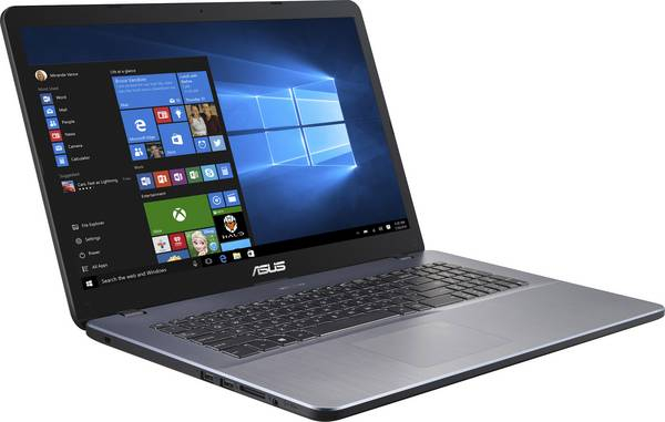 Laptop Asus Vivobook 17 F705QA-BX140T Gri, AMD A12-9720P, 8 GB DDR4, 256 GB SSD, Windows 10 Home 1