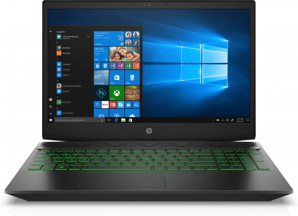 Laptop HP Pavilion Gaming 15-cx0203ng, i5-8300H, Ram 8GB DDR4, HDD 1TB, 16GB Intel Optane, Video GTX 1050 2GB,Windows 10 Home, Tastatura in limba Germana 0