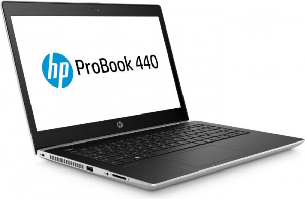 "Laptop HP ProBook 440 G5, 14""(1920x1080), i5-7200U, RAM 8GB DDR4, SSD 256 GB M.2 PCIe, Windows 10 Home, tastatura in limba germana 1"