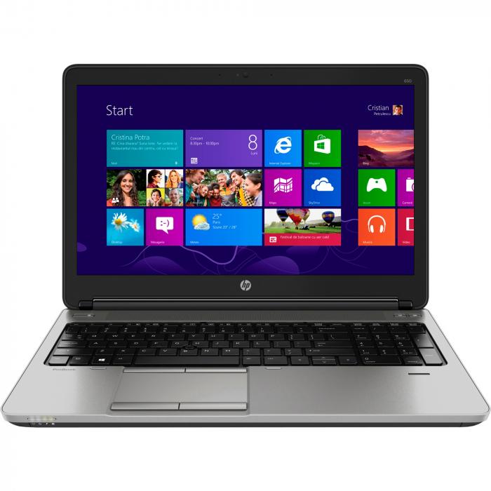 Laptop HP ProBook 650 G1, 15.6 inch, Intel Core i5-4210U, RAM 8GB, HDD 640GB 0