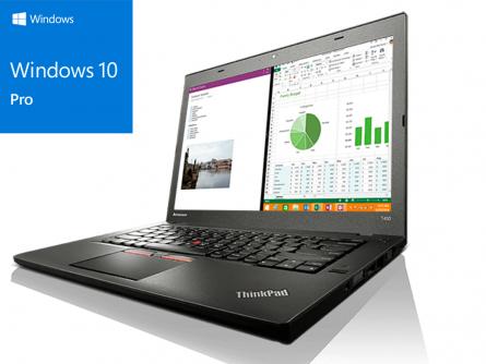 "Laptop Lenovo T450 / i5-5300U 2.30GHz / 8Gb DDR3 / 512 SSD / 14"" Display / Windows 10 PRO 1"