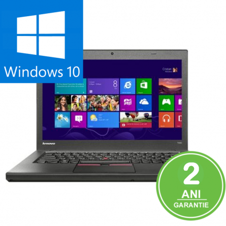 "Laptop Lenovo T450 / i5-5300U 2.30GHz / 8Gb DDR3 / 512 SSD / 14"" Display / Windows 10 PRO 0"