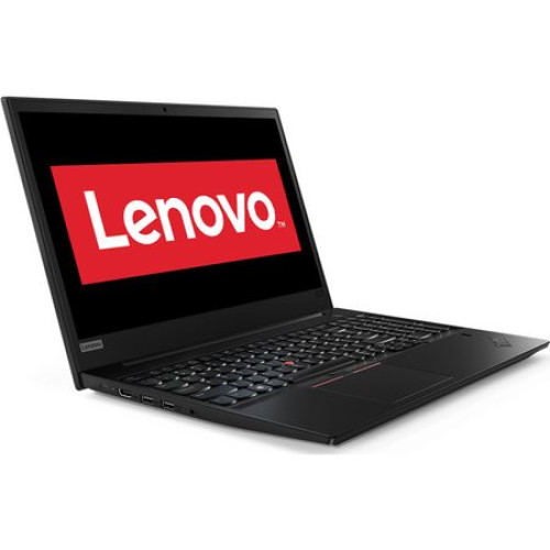 "Laptop Lenovo Thinkpad E580 cu procesor Intel® Core™ i7-8550U pana la 4 GHz, Kaby Lake R, 15.6"", Full HD IPS , 16 GB, HDD 1 TB, SSD 256 GB, Intel UHD Graphics 620, placa grafica dedicata 2 GB, free DO 2"