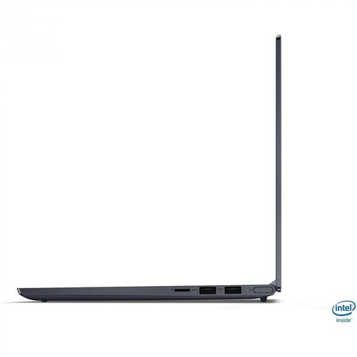 "Laptop Lenovo Yoga Slim 7 14IIL05 cu procesor Intel® Core™ i7-1065G7, 14"" Full HD, 16GB, 512GB SSD, Nvidia GeForce MX350 2GB, Windows 10 Home, Dark Moss 5"