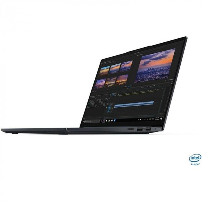 "Laptop Lenovo Yoga Slim 7 14IIL05 cu procesor Intel® Core™ i7-1065G7, 14"" Full HD, 16GB, 512GB SSD, Nvidia GeForce MX350 2GB, Windows 10 Home, Dark Moss 1"