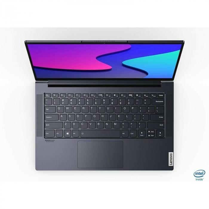 "Laptop Lenovo Yoga Slim 7 14IIL05 cu procesor Intel® Core™ i7-1065G7, 14"" Full HD, 16GB, 512GB SSD, Nvidia GeForce MX350 2GB, Windows 10 Home, Dark Moss 4"
