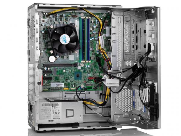 Sistem PC Refurbished Lenovo ThinkCentre M710t Desktop, Intel Core i5-6500, 8 GB RAM, 240Gb SSD, DVDRW, DisplayPort, VGA, Windows 10 Pro [3]